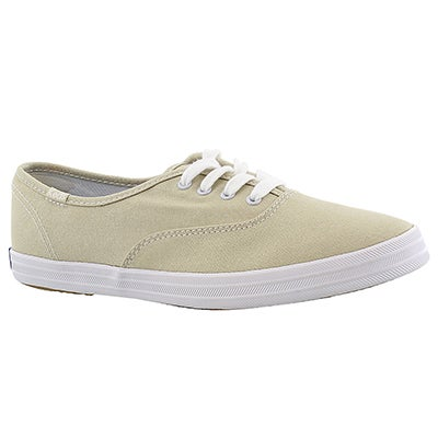 Keds Women's CHAMPION OXFORD stone CVO sneakers