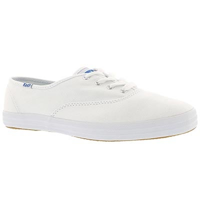 Keds Women's CHAMPION OXFORD white sneakers -Extra Wide
