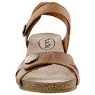 Lds Charade camel wedge sandal