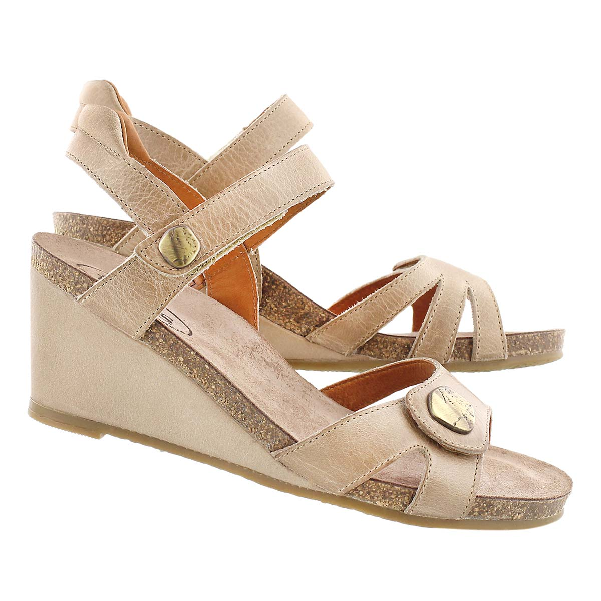 Lds Charade stone wedge sandal