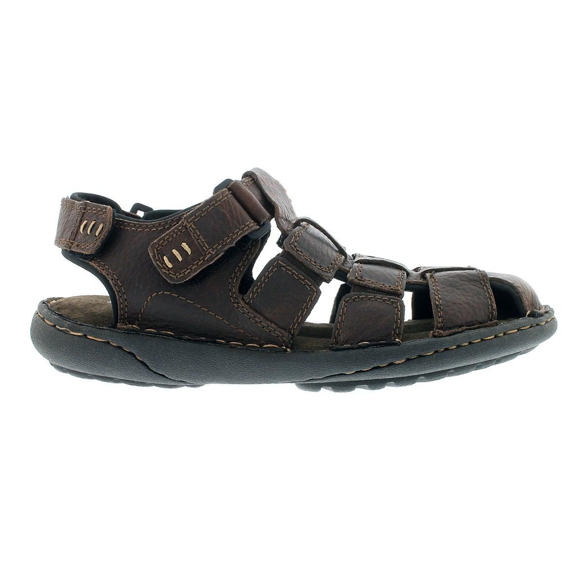 Mns Charles II brown fisherman sandal