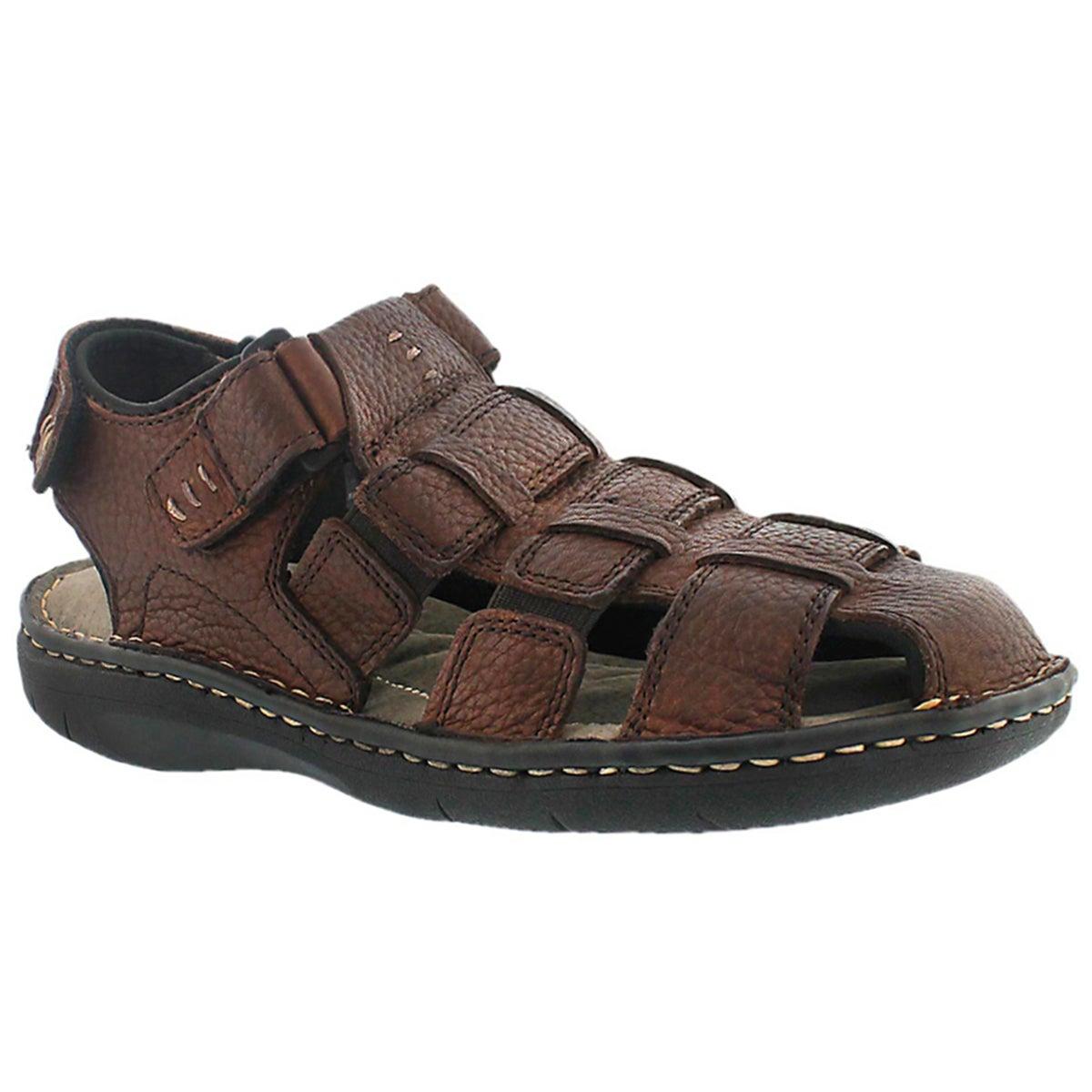 Mns Charles 3 brown fisherman sandal