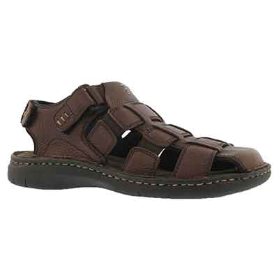 Mns Charles 4 brown fisherman sandal
