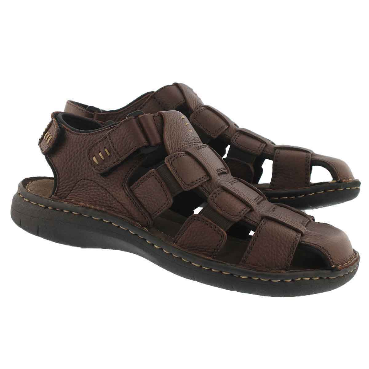 Mns Charles 4 brown fisherman sandal