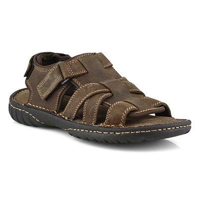 Mns Chase 6 brn crzy fisherman sandal