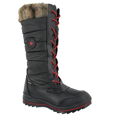Lds Chateau black wtpf winter boot