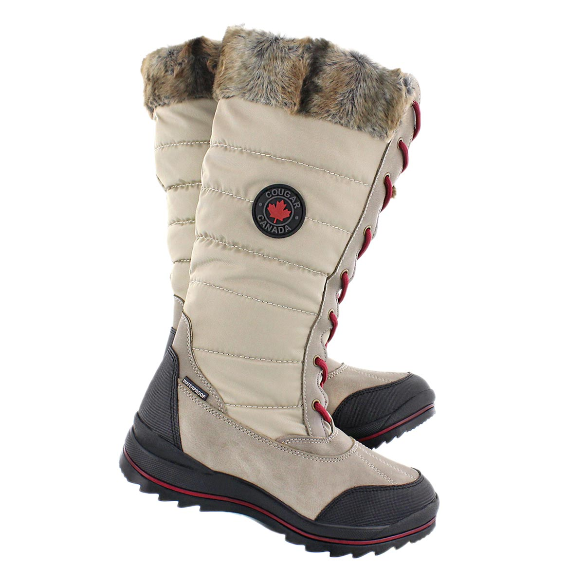 Lds Chateau oatmeal wtpf winter boot