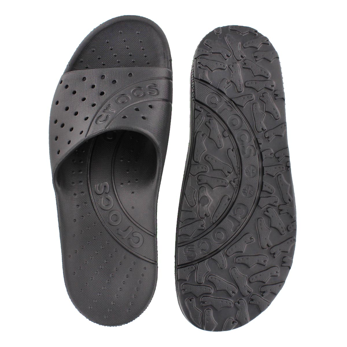 Sandale � enfiler Chawaii, noir, hommes