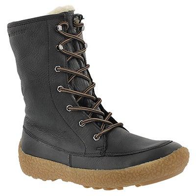 Lds Cheyenne blk wtrpf winter boot