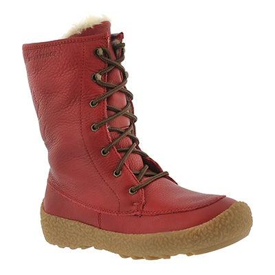Cougar Women's CHEYENNE red waterproof winter boots