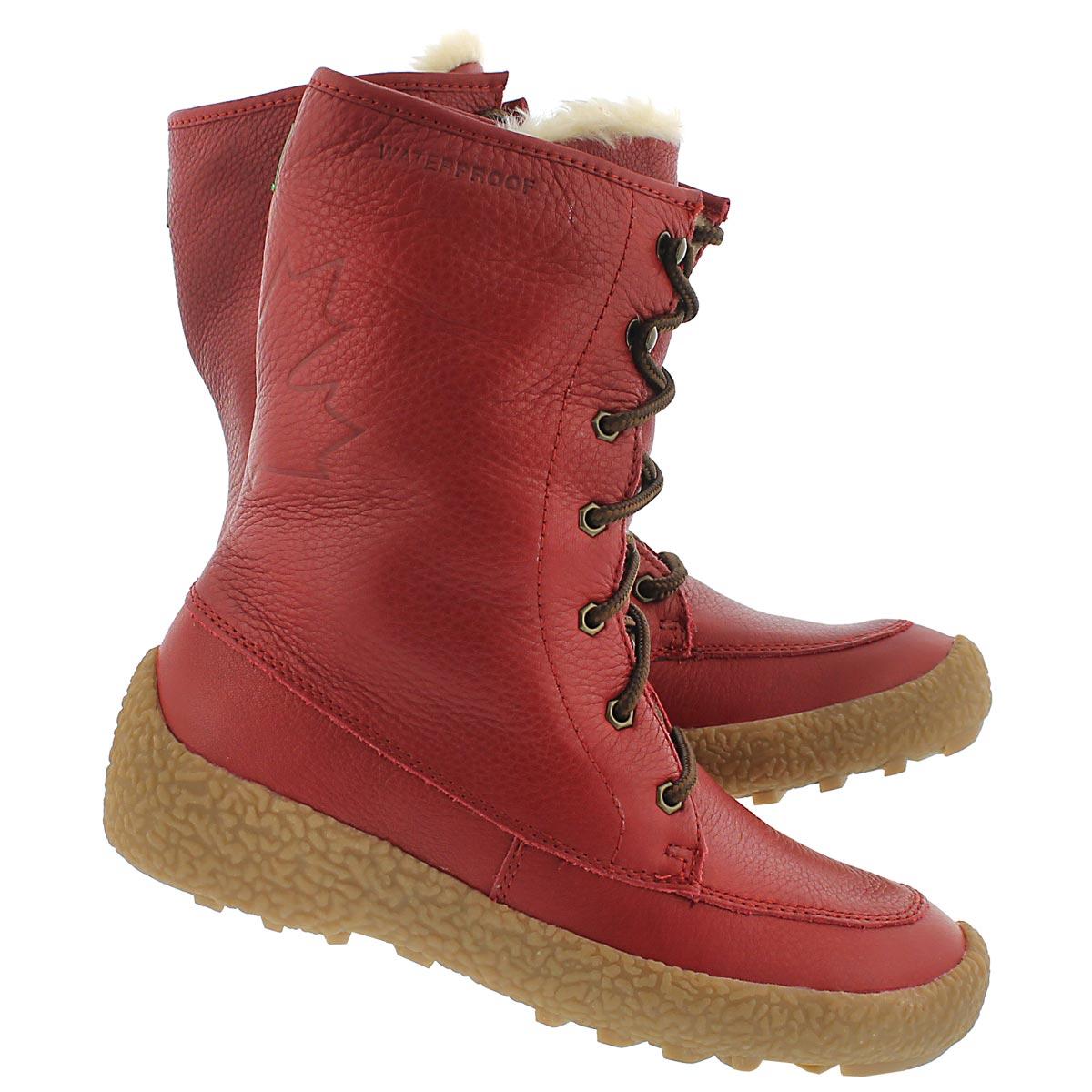 Lds Cheyenne red wtrpf winter boot