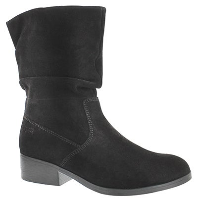 Cougar Women's CHICHI black suede waterproof booties