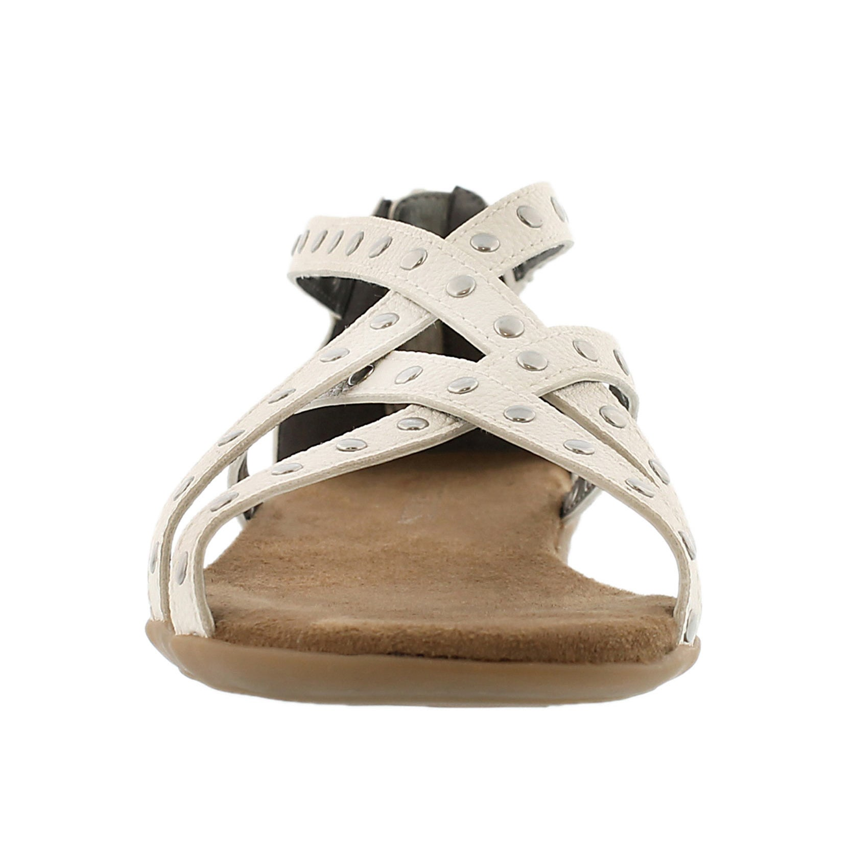 Lds Chlosing Time white gladiator sandal