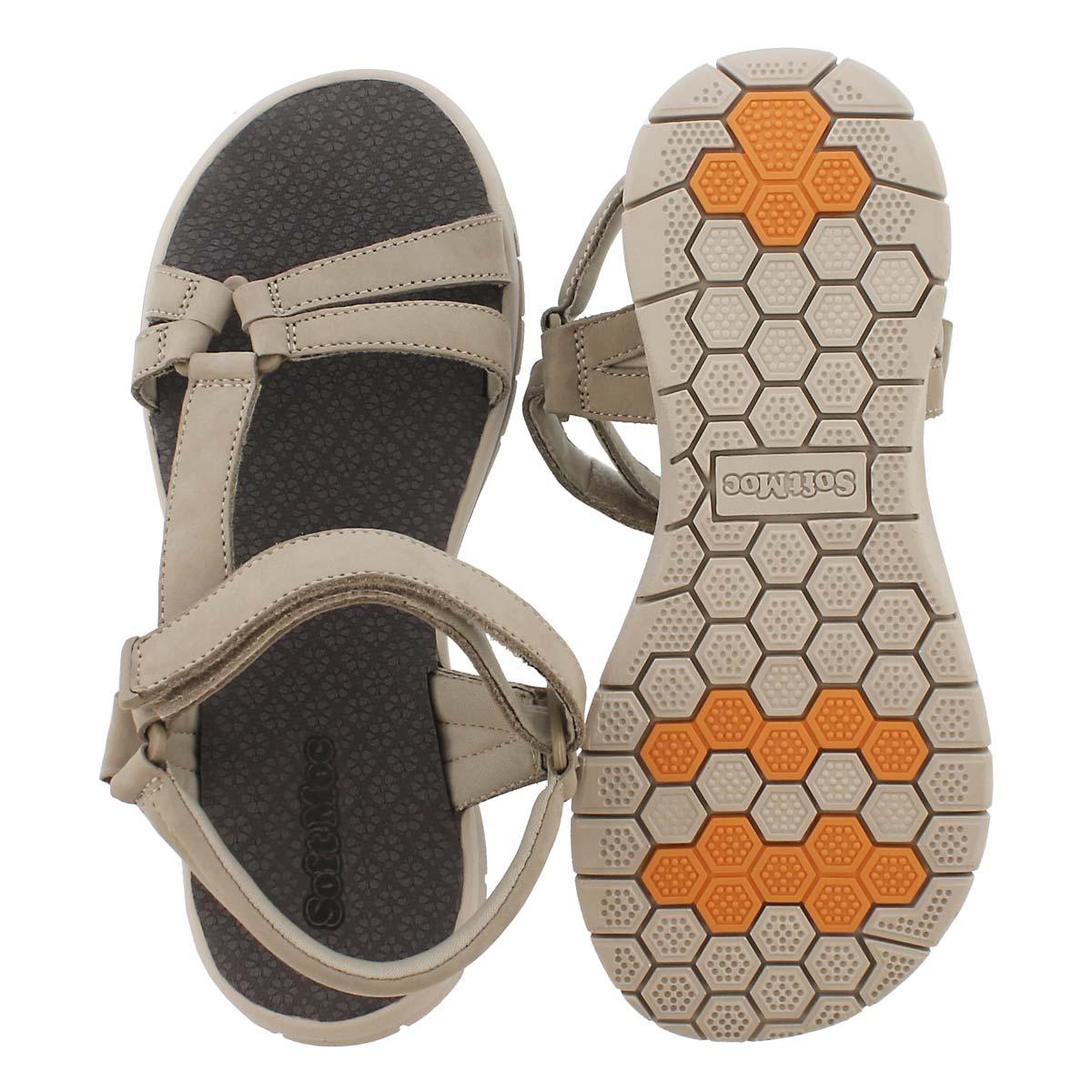 Lds Chrissy stone sport sandal