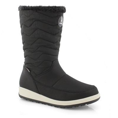 Lds Chrissy Zip black wtpf winter boot
