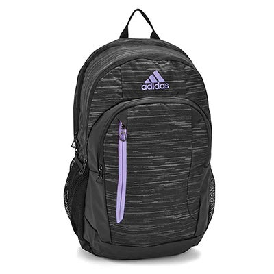 Adidas Mission Plus blk/ppl backpack