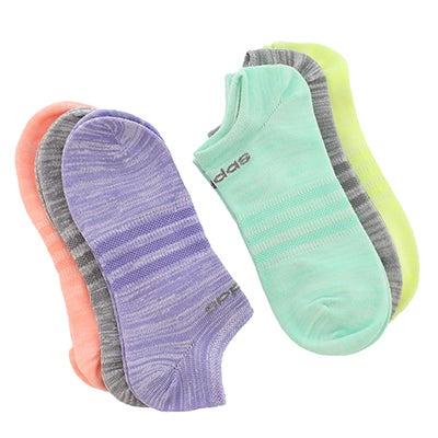 Adidas Women's SUPERLITE multi no show socks - 6pk
