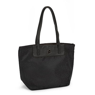 Ciao Women's EDITH black printed cooler bag