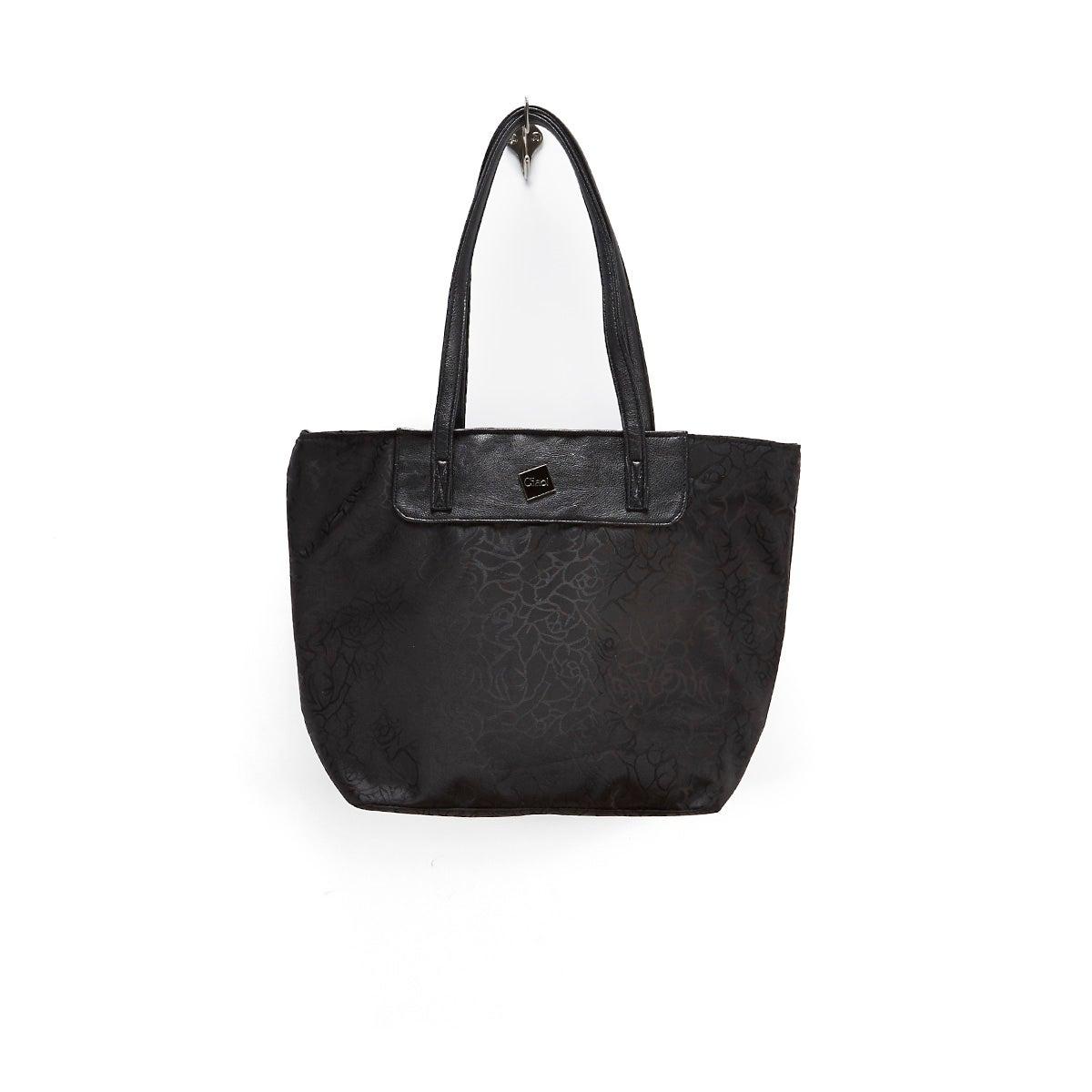 Lds Edith black printed cooler bag