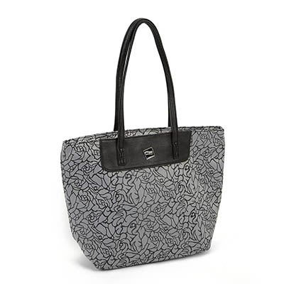 Ciao Women's EDITH grey printed cooler bag
