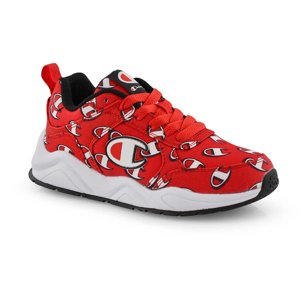 183b5c08a9c Champion Kids  93Eighteen Repeat Logo Lace Up Sneaker