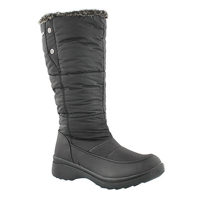 SoftMoc Women's CLAIRE blk wtpf memory foam winter boots