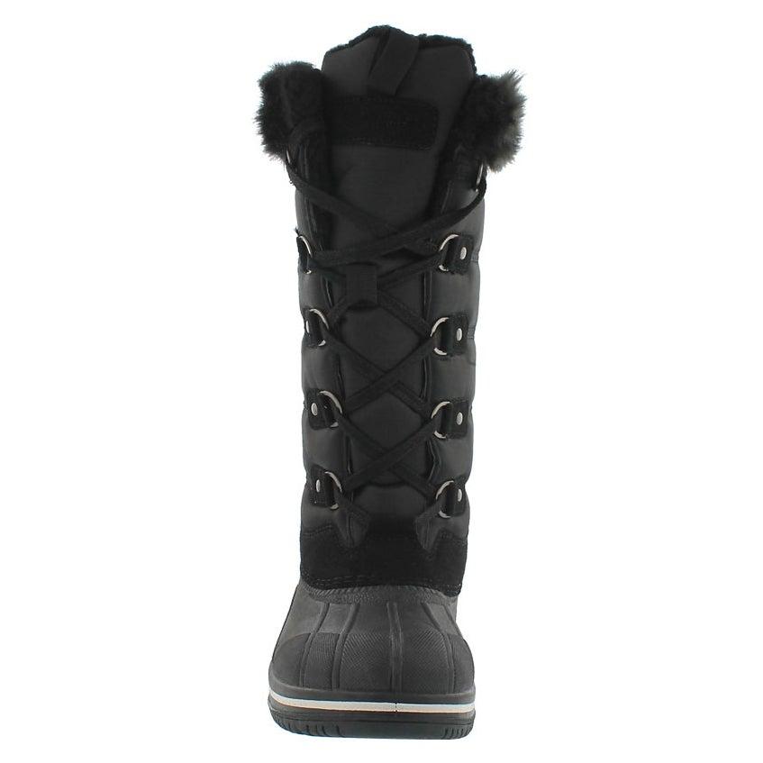 Lds Clara black wtrpf tall winter boot