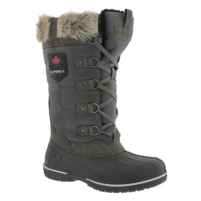 Superfit Women's CLARA charcoal waterproof winter boots