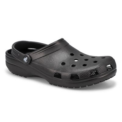 Crocs Men's CLASSIC black comfort clogs