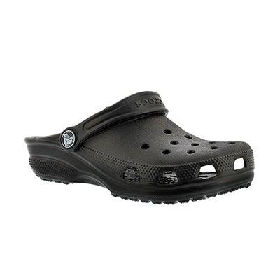Crocs Kids' ORIGINAL CLASSIC black clogs