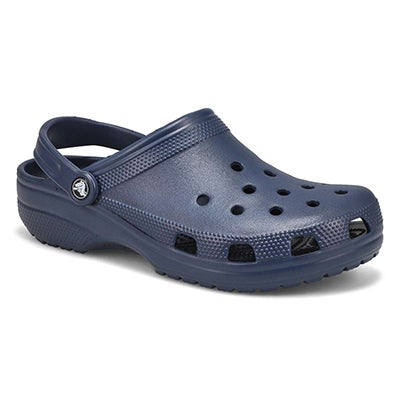 Crocs Men's CLASSIC navy comfort clogs
