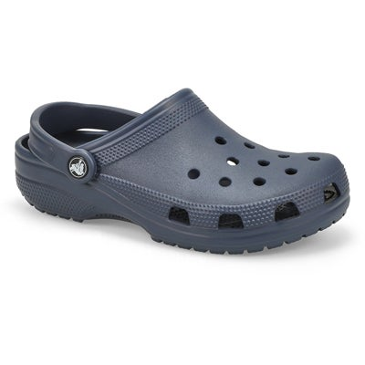 Crocs Women's CLASSIC navy comfort clogs