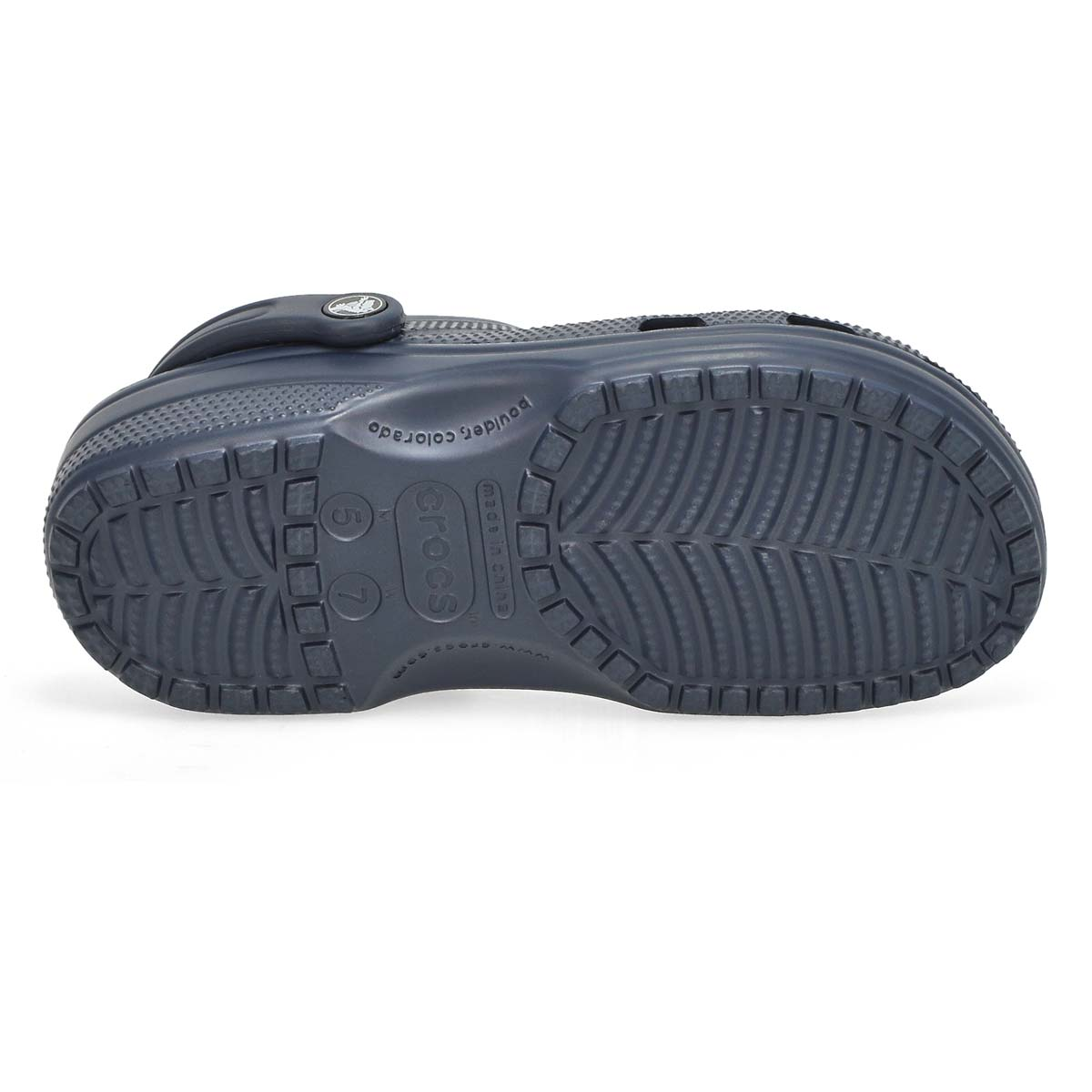 Lds Classic navy EVA comfort clog