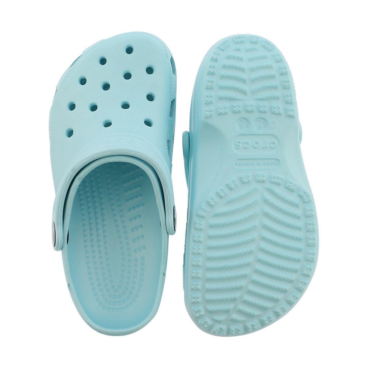 Grls Classic ice blue EVA comfort clog