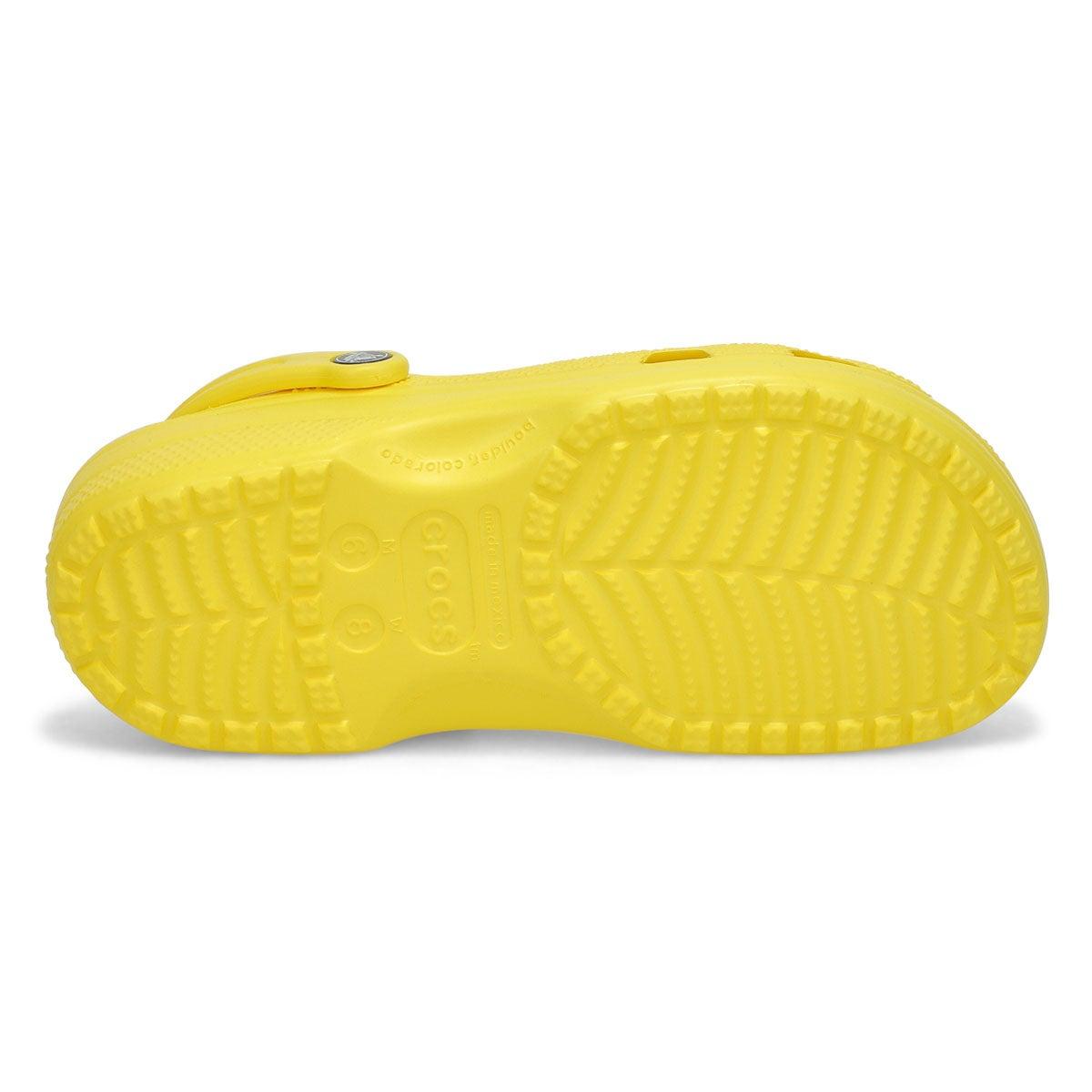 Lds Classic lemon EVA comfort clog