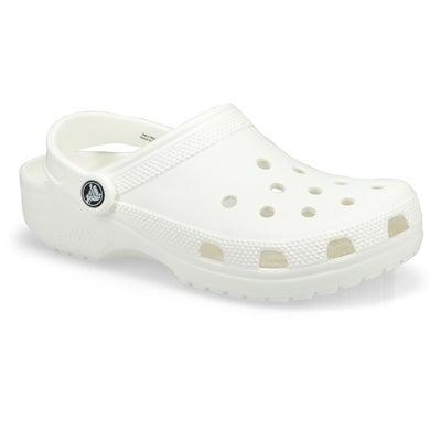 Crocs Sabots confortables CLASSIC, EVA blanc, femmes
