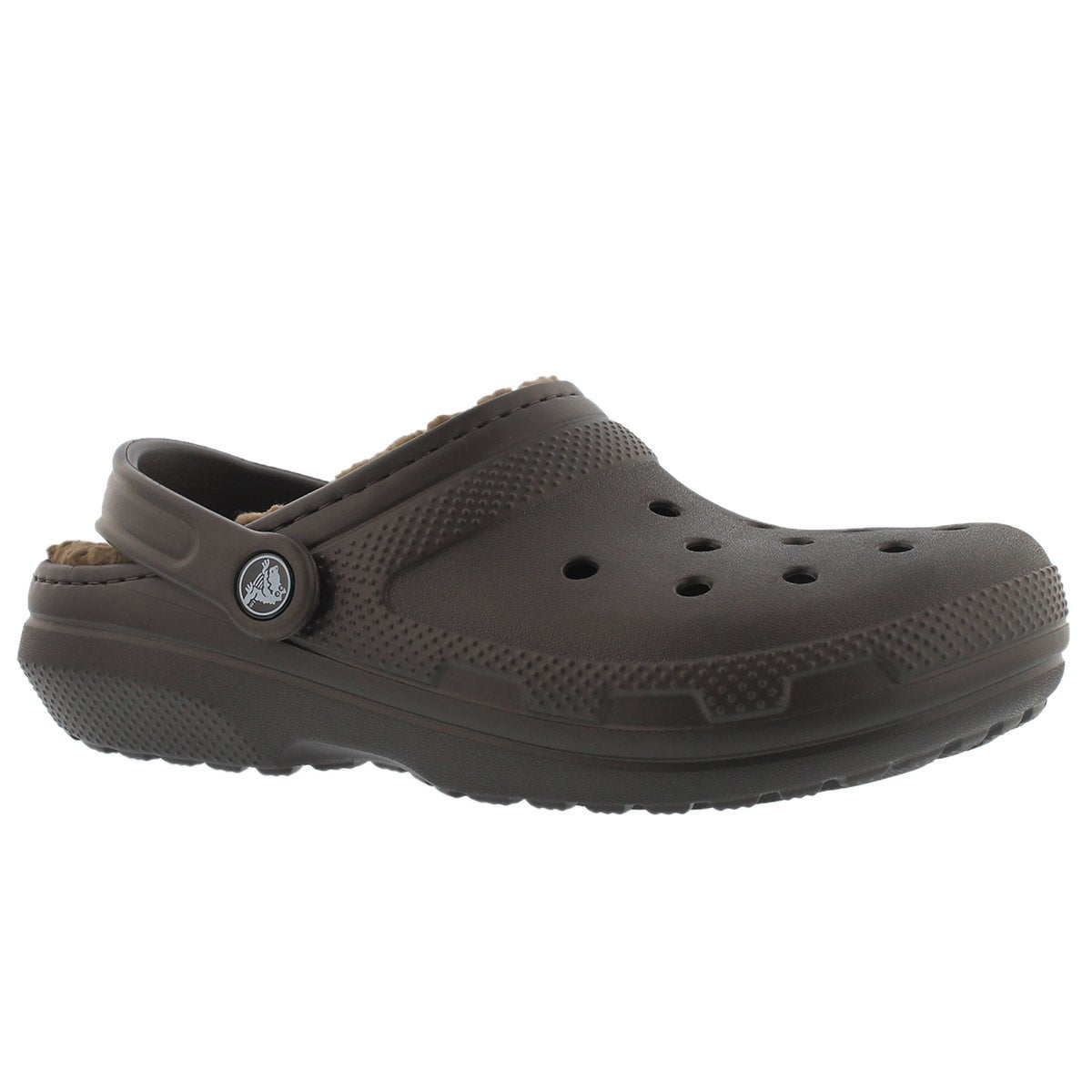 Women's CLASSIC LINED espresso comfort clogs