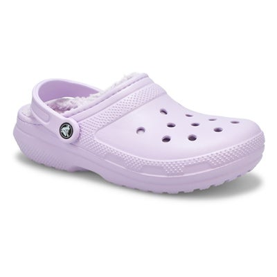 Lds Classic Lined lavender comfort clog