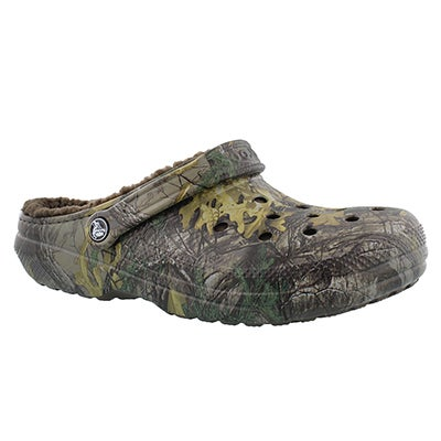 Crocs Men's CLASSIC LINED realtree comfort clogs