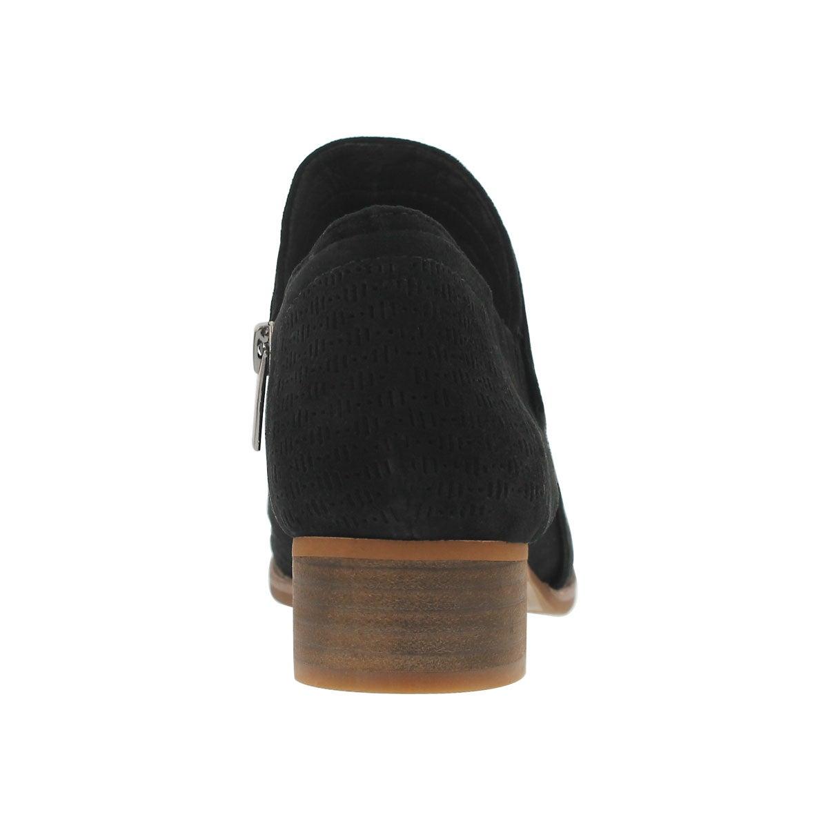 Lds Clorieea black slip on casual bootie