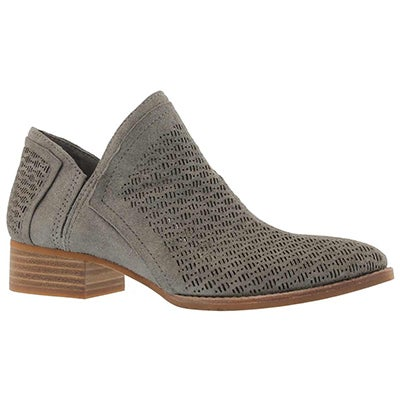 Lds Clorieea grey slip on casual bootie