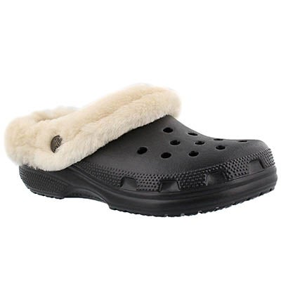 Crocs Women's CLASSIC MAMMOTH LUXE black clogs