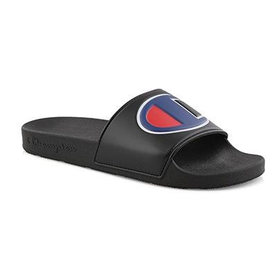 Mns Ipo blk/blk sport slide sandal