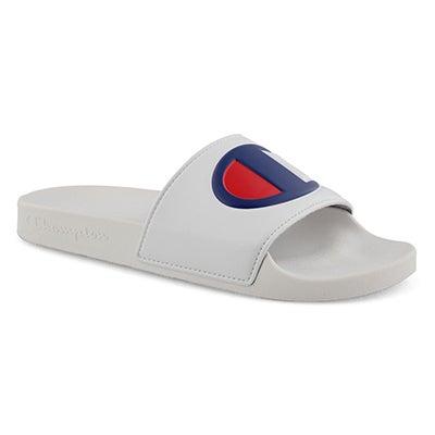 Mns Ipo wht/wht sport slide sandal