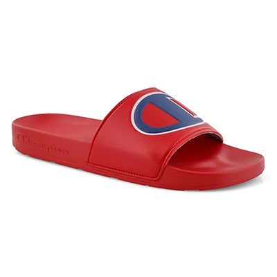 Mns Ipo red/red sport slide sandal