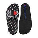 Kds IPO Repeat blk/blk slide sandal