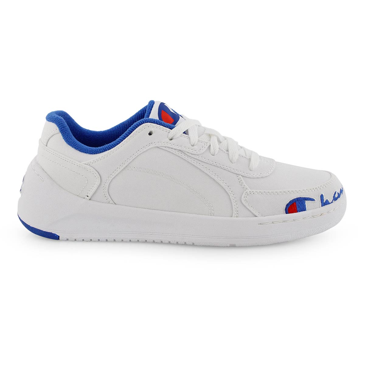 Lds Court Low white lace up sneaker