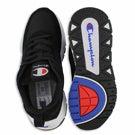 Mns 93Eighteen black lace up sneaker