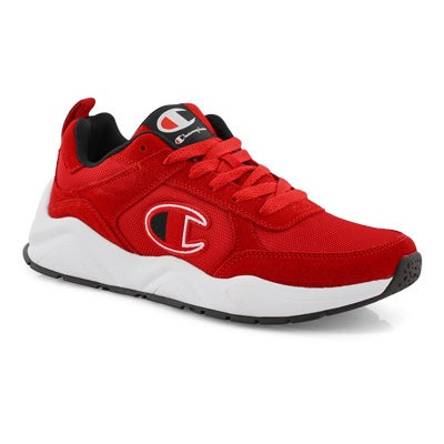 Mns 93Eighteen red lace up sneaker