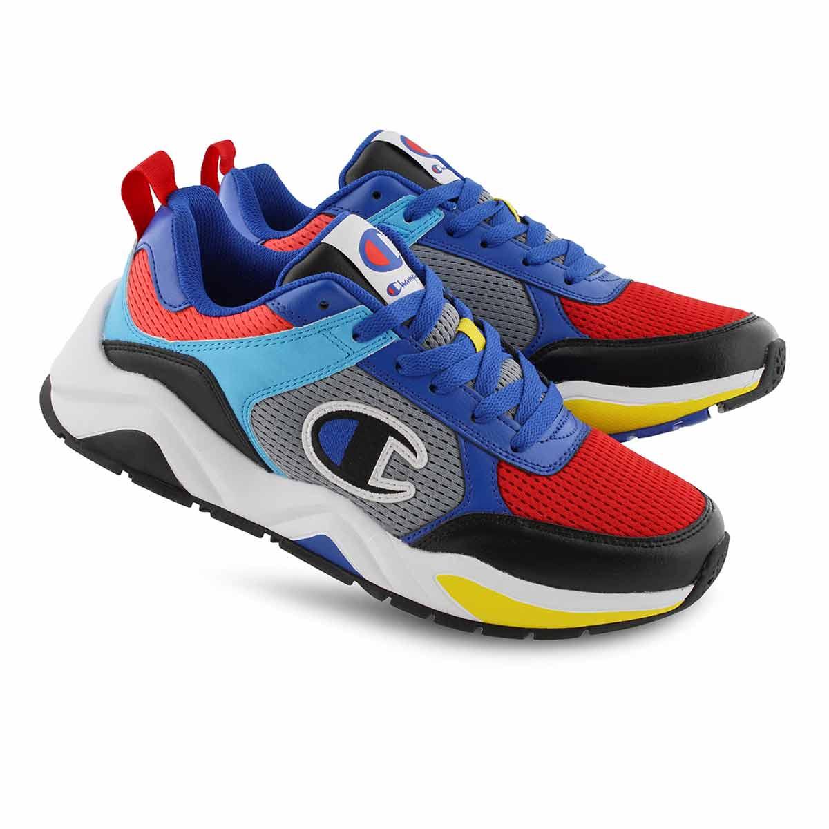 Mns 93Eighteen C Block blk mlti sneaker